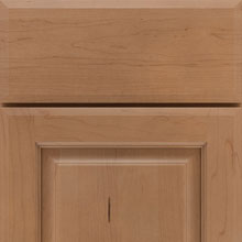New Evans cabinet door in Maple Sahara