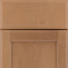New Perkins cabinet door in Maple Sahara