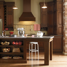 Casual cabinets by Schrock Cabinetry