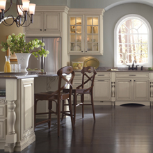Traditional cabinets by Schrock Cabinetry