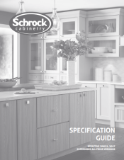 Download Cabinet Brochures from Schrock Cabinetry
