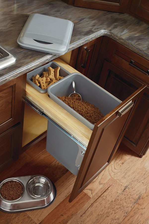 Exceptionnel Base Wastebasket Cabinet Full Height With Lid