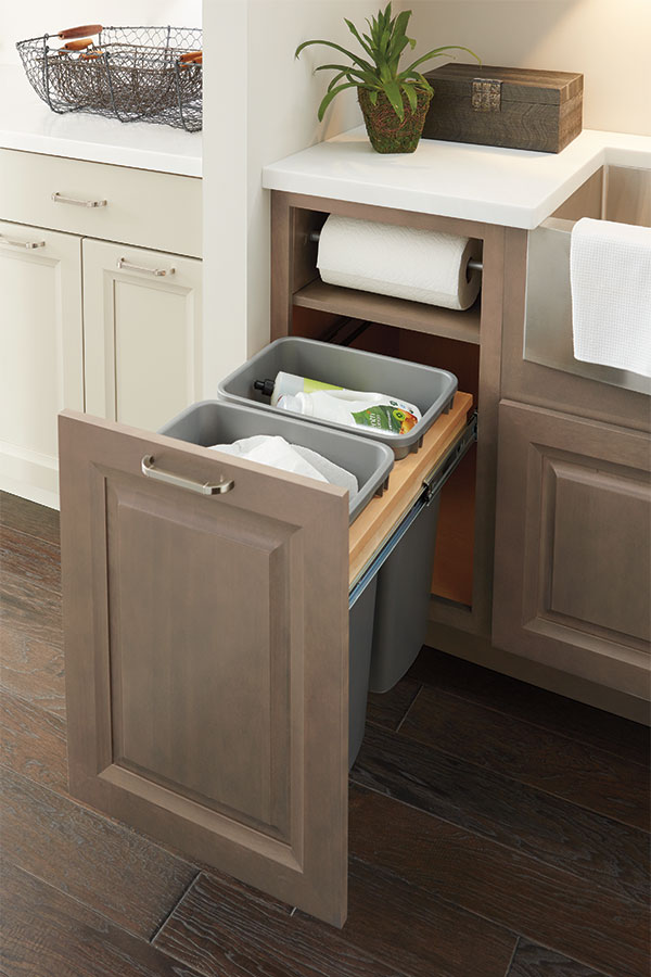 Base Paper Towel Cabinet Schrock Cabinetry