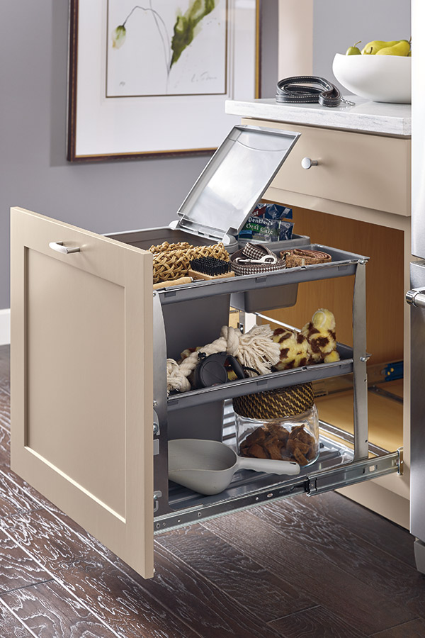 Base Bin Tray Pullout Cabinet