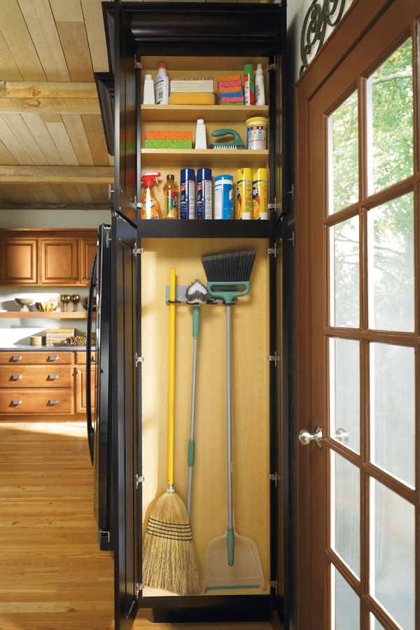 kitchen utility cabinet utility easy access cabinet schrock cabinetry 22116