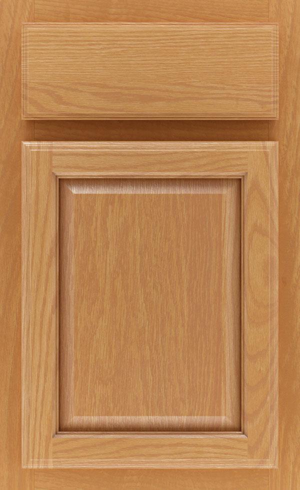 Natural Cabinet Finish On Quartersawn Oak Schrock Cabinetry