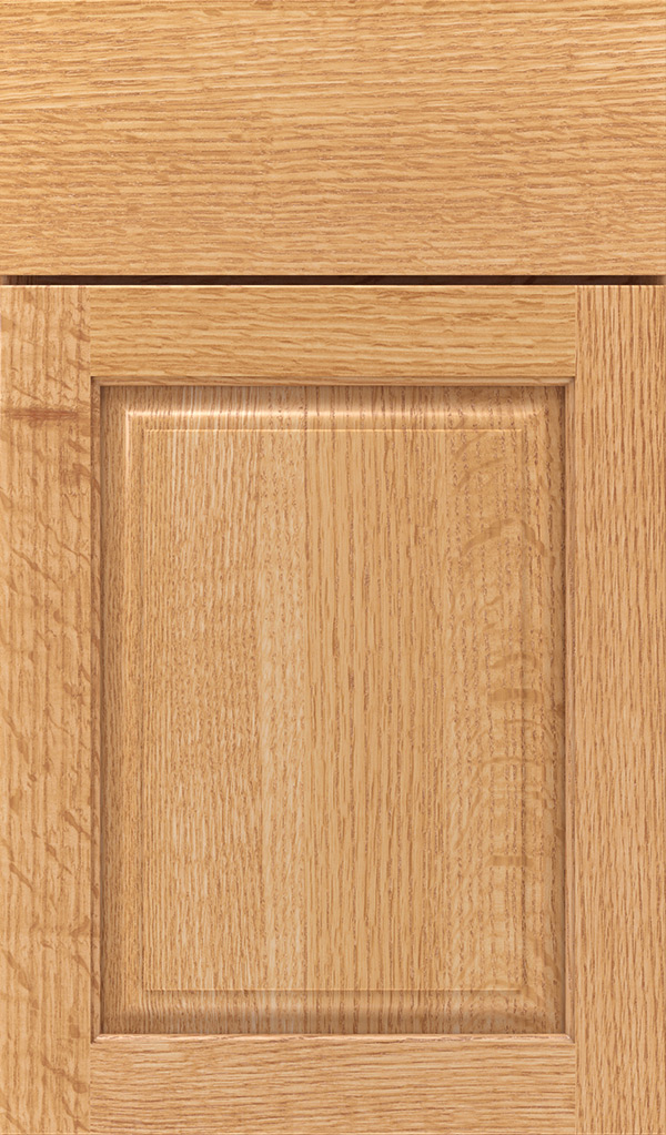 Natural Cabinet Finish On Quartersawn Oak Schrock Cabinetry