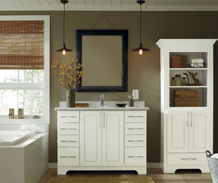 Bathroom Vanity And Storage Cabinet