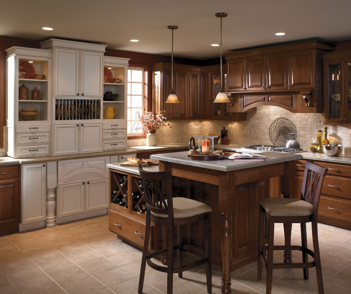Our Kitchen Mood Our Cabinet Color: Two Tone Kitchen Cabinets