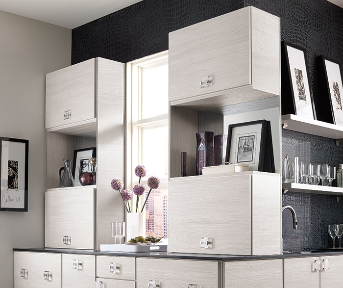 Derazi contemporary wet bar cabinets