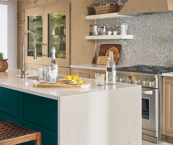 On-Trend Transitional Kitchen