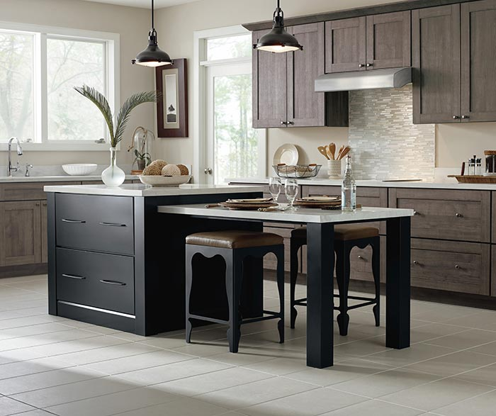 Kitchen Design Photos - Wood Cabinet Colors - Schrock