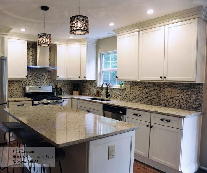 Off white shaker kitchen cabinets ... & Off White Shaker Kitchen Cabinets - Schrock kurilladesign.com
