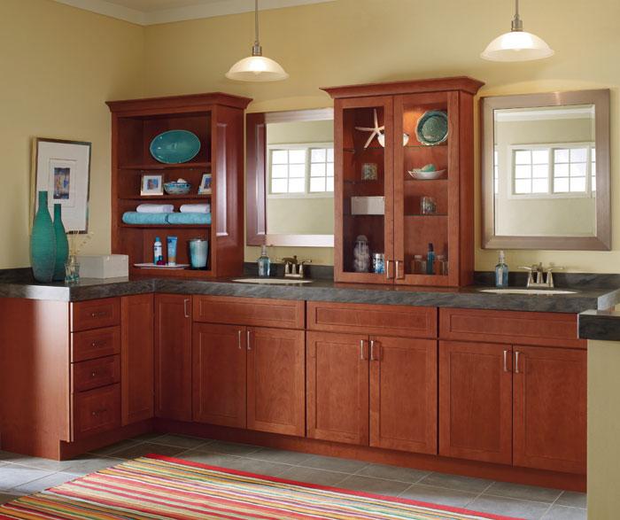 Schrock Hickory Kitchen Cabinets