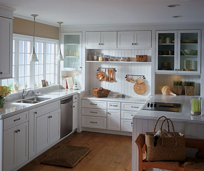 White Shaker Style Kitchen Cabinets, Shaker Style Kitchen Cabinet Colors