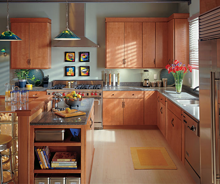 Cherry Or Maple Kitchen Cabinets: Light Cherry Kitchen Cabinets