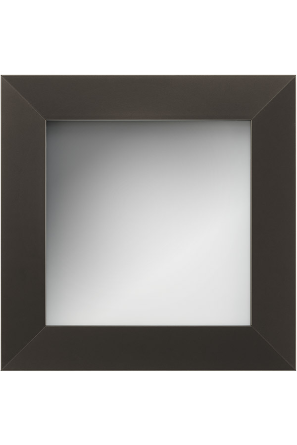 Aluminum Frame Cabinet Door   Oil Rubbed Bronze With Frost Glass