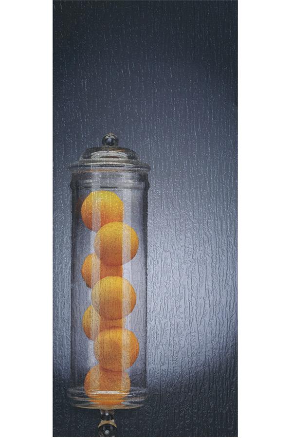Rain Glass Cabinet Insert Schrock Cabinetry