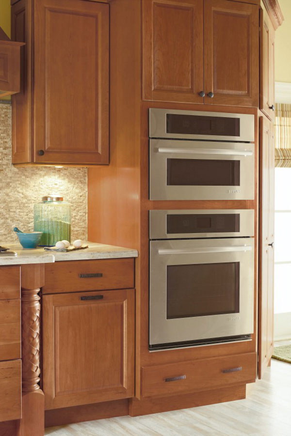 Double Oven Cabinet Schrock Cabinetry