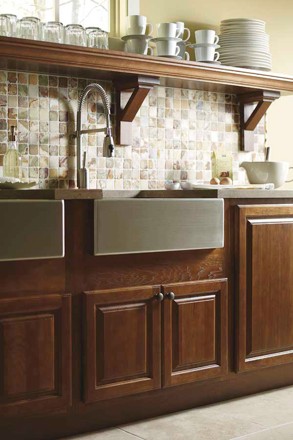 Country Sink Base Cabinet Schrock Cabinetry