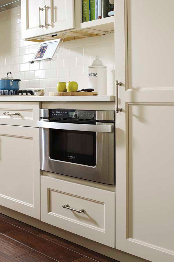 Base Built In Microwave Cabinet