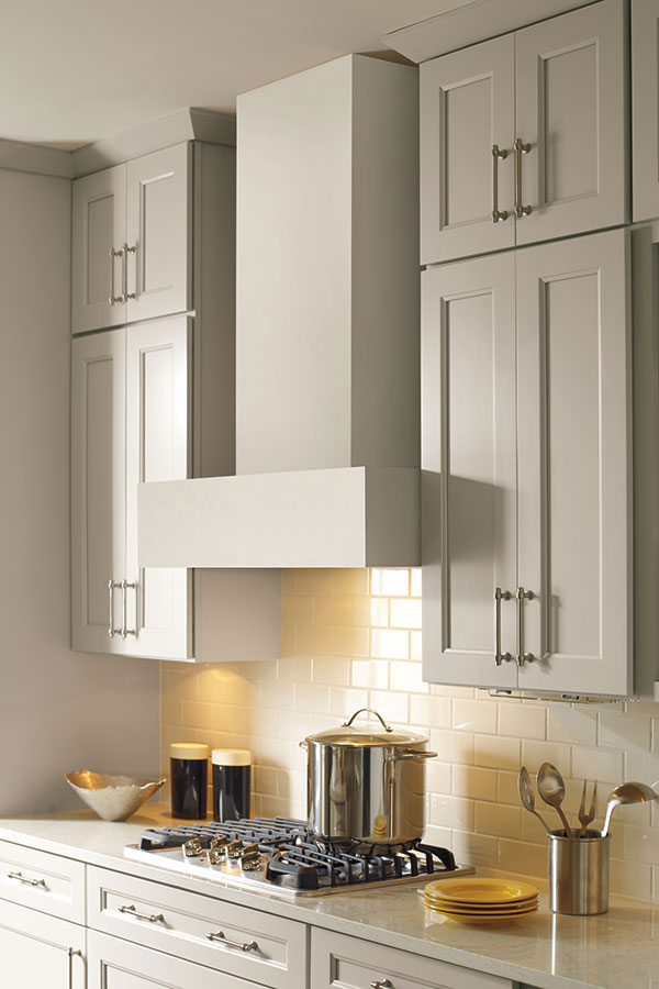 Straight Wood Hood Schrock Cabinetry
