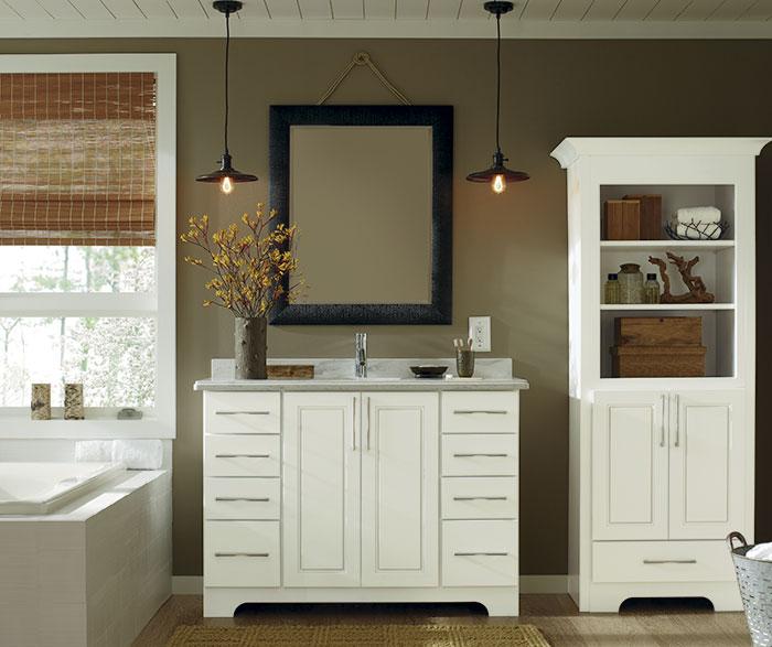 closet vanity ideas - Ainsley Cabinet Door Style Schrock Cabinetry