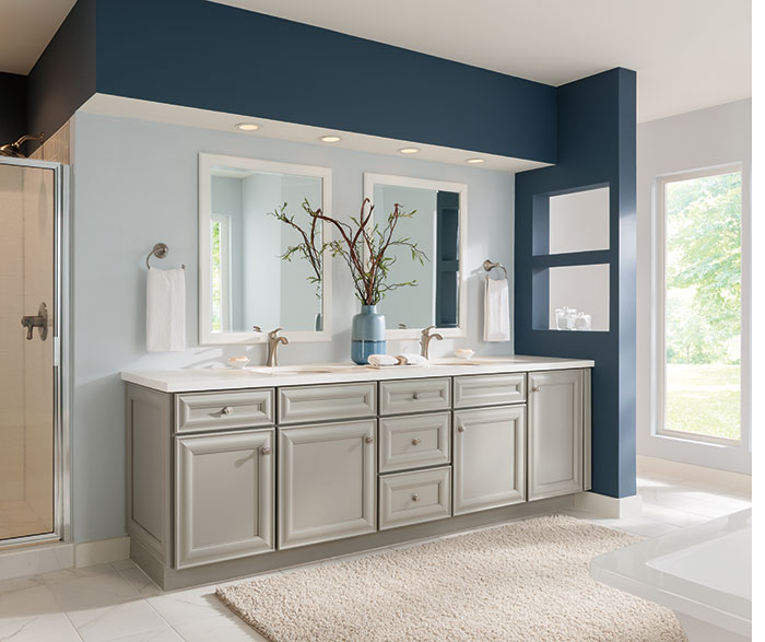 schrock bathroom cabinets gray bathroom cabinets schrock cabinetry 25876