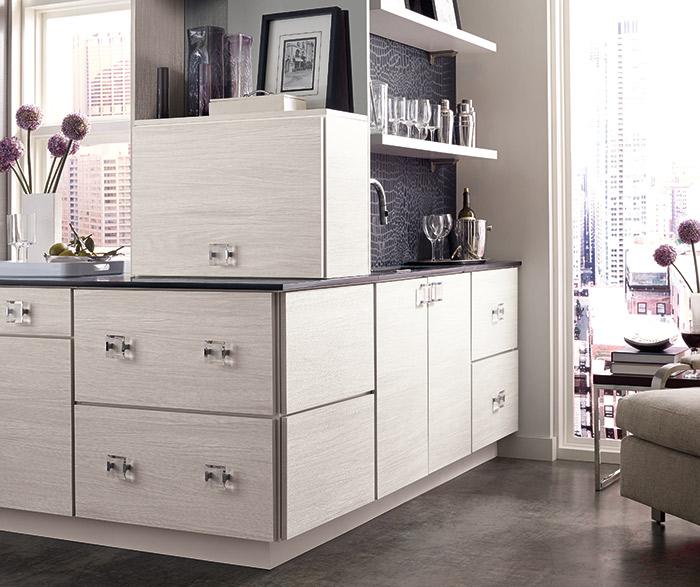 Derazi contemporary wet bar cabinets